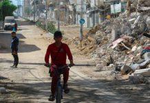 75000 Palestinians Disturbed by Israel Bombardment, UN Statement