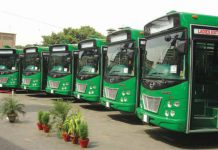 Asad Umar Announces New Date for Green Line BRT Project of Karachi