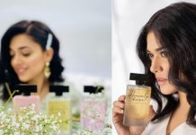 Pakistan's 1st Female-Led Fragrance Brand launched by Sanam Jung