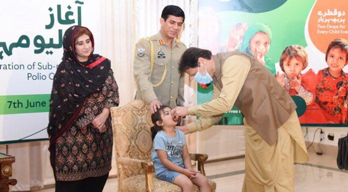 Imran Khan Introduces 5-Day Anti-Polio Campaign Across Pakistan