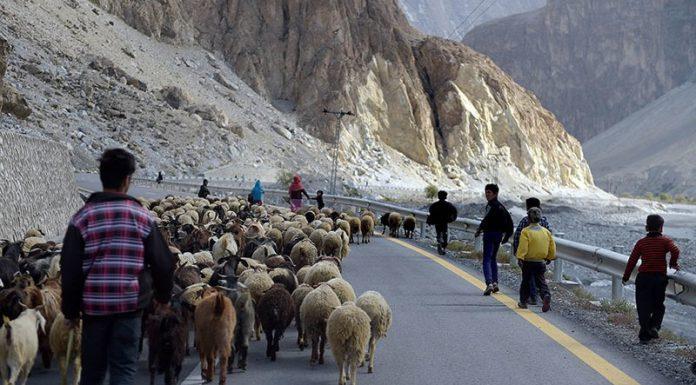 Karakoram Highway ranks among the world's 15 most beautiful roads