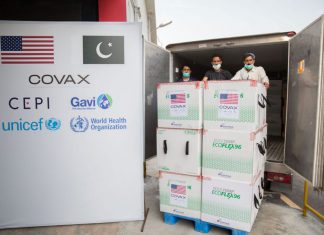 Pakistan gets 2.5m Moderna doses from the US, COVID-19
