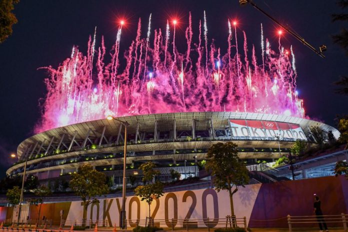 The Opening ceremony of the Tokyo Olympics begins under Covid cloud