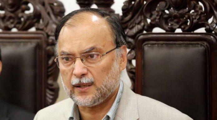 Ahsan Iqbal PML-N leader again tests positive for Covid-19