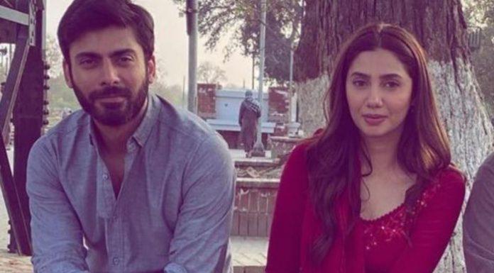 Mahira Khan & Fawad Khan Appears on the Set of upcoming Film