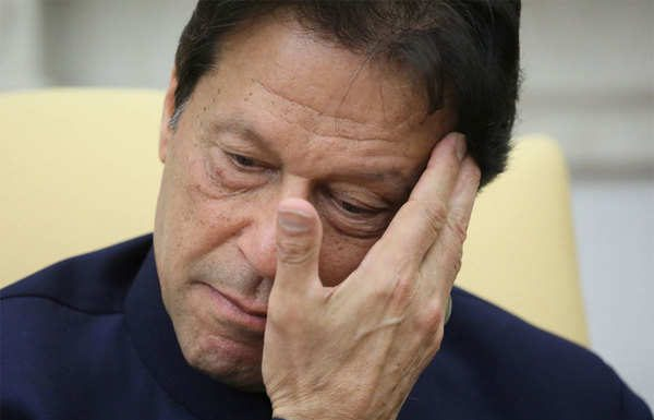 """PM Imran: """"Ashamed and Pained"""" at Minar-e-Pakistan assault incident."""