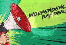 The Best Five Independence Day Sales, August 2021